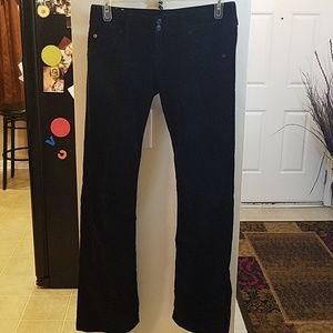 Hudson black corduroy Jeans size 28 tall